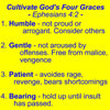 Four Graces of Ephesians