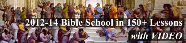 2012-14 Bible School Classes with video