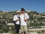Click here to see what Galyn and Toni saw on the East side of the Old City of Jerusalem
