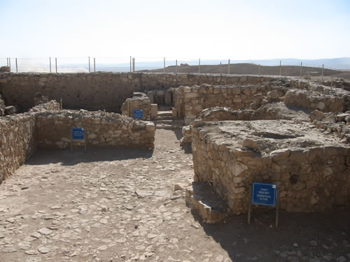 Arad Israel  city photos gallery : In the upper city of Arad is an Israelite Temple, or High Place, of ...