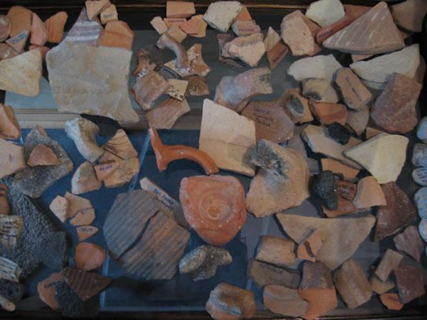 Stone Of Joshua Beth Shemesh: Potsherds From Israel