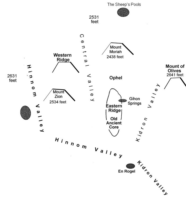 Western Hill or Mount Zion - Jerusalem 101 on map of asia in the time of christ, israel during jesus' time, map of israel at time of christ, map paul's time, map jerusalem time of christ,