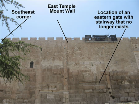 The Eastern Gate Temple Mount Wall에 대한 이미지 검색결과