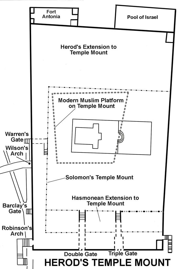 Herods Temple Mount Jerusalem 101