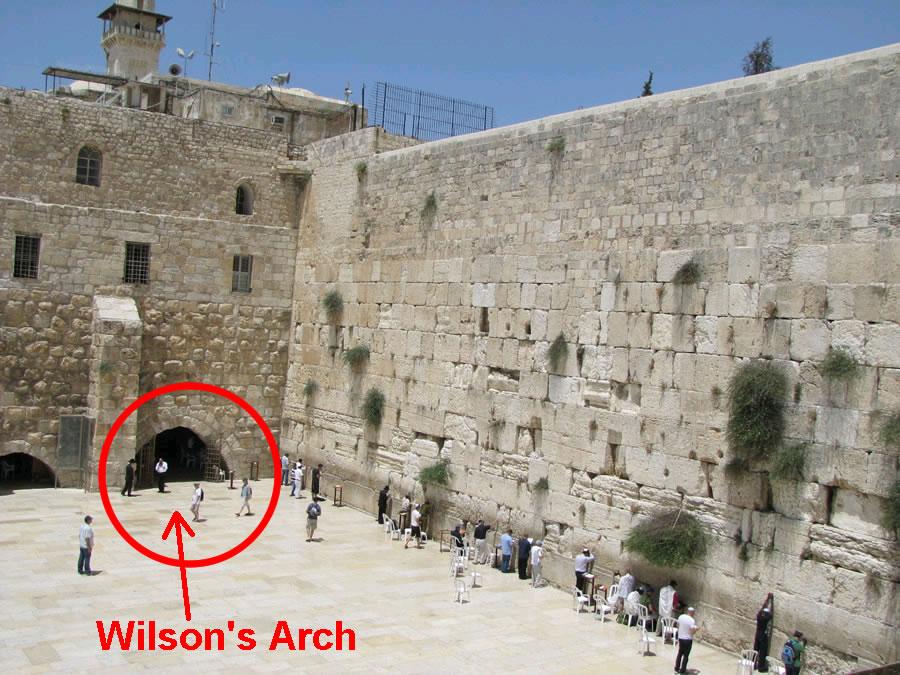 wilson arch jerusalem에 대한 이미지 검색결과