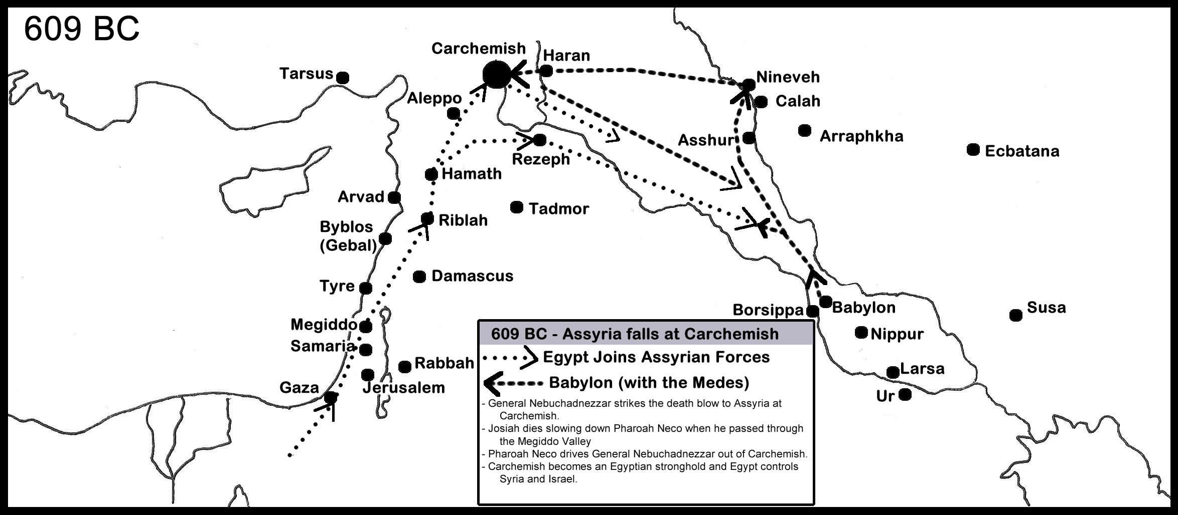 Assyria Falls To Babylon In BC Babylon Takes Nineveh BC - Map of egypt with capital