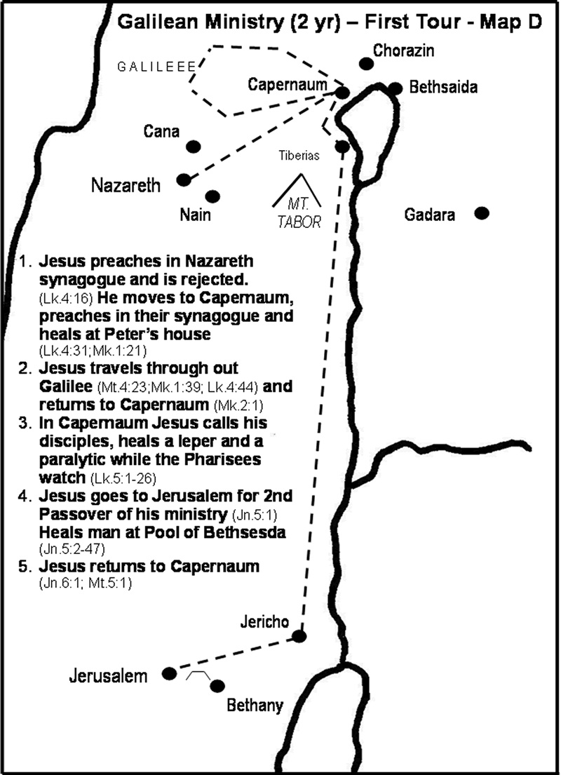 jesus galilean ministry essay The majority of jesus' ministry is around the sea of galilee located north of the jordan river, east of nazareth, and some 40 miles from jerusalem even though we might consider nazareth set apart from the galilean area today, it was part of the same district in jesus' time (matthew 2:22-23), so.